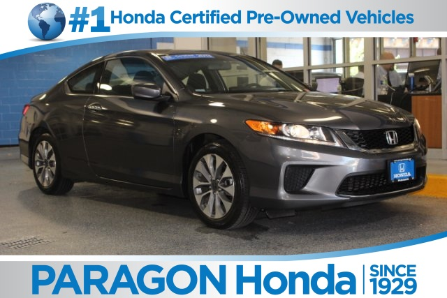 certified pre owned 2013 honda accord lx s 2d coupe in woodside 159444t paragon honda. Black Bedroom Furniture Sets. Home Design Ideas